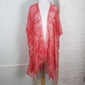 Tops - Do everything in love kimono